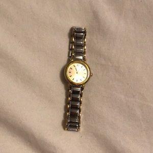 Geneva Two-Tone Watch